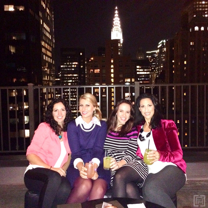 nyc rooftop at the kimberly