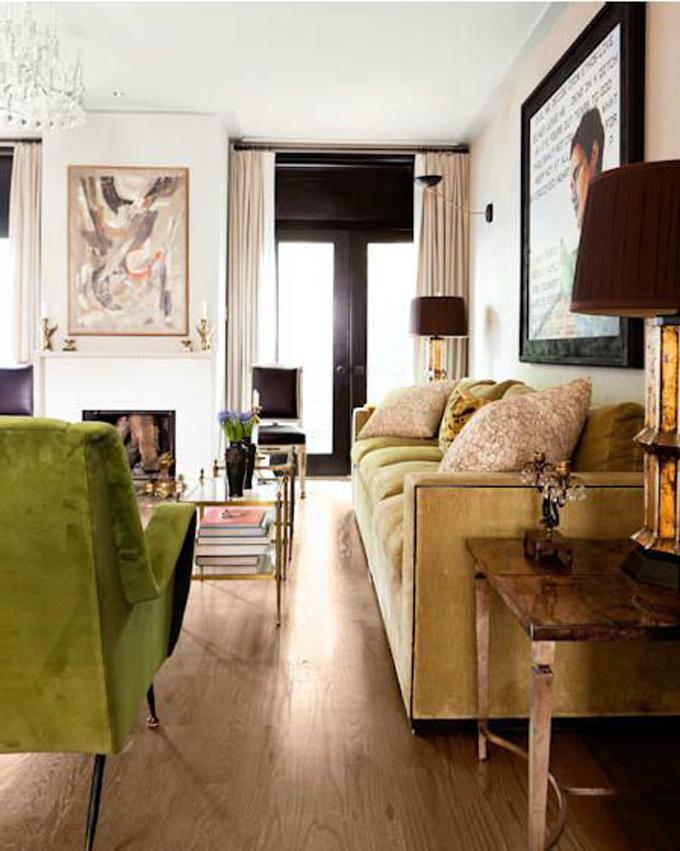 Favorite spaces a velvet living room fabric draped rooms for Living room ideas velvet
