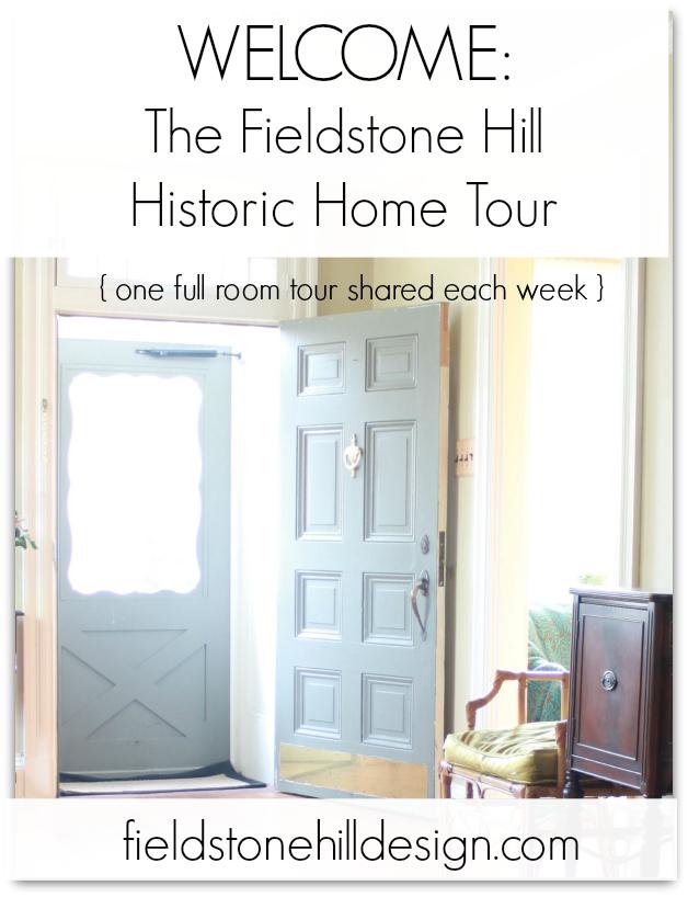 Fieldstone Hill Historic Home tour