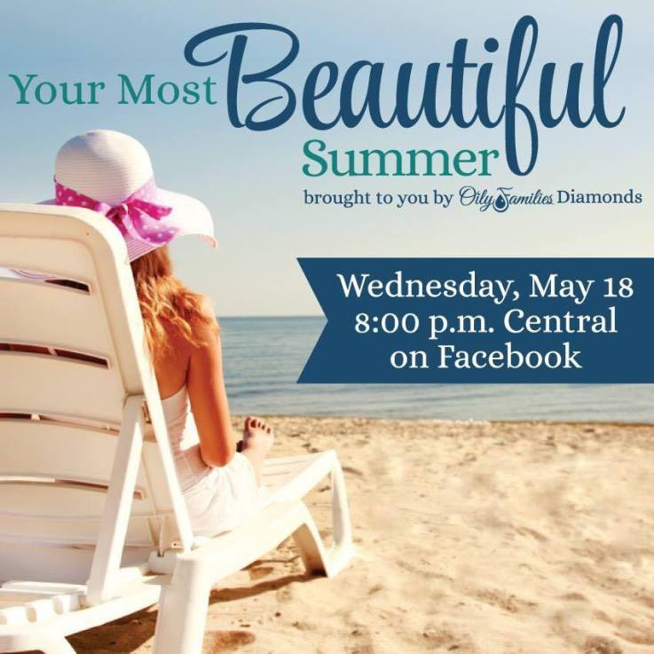 Your most beautiful Summer with essential oils, live!