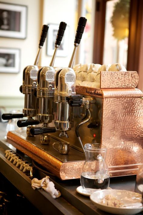 10-ways-to-bring-copper-into-your-kitchen-via-fieldstonehill-espresso-machine