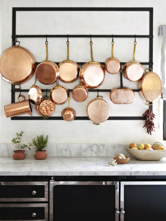 10 Ways To Use Copper In Your Kitchen Fieldstone Hill Design