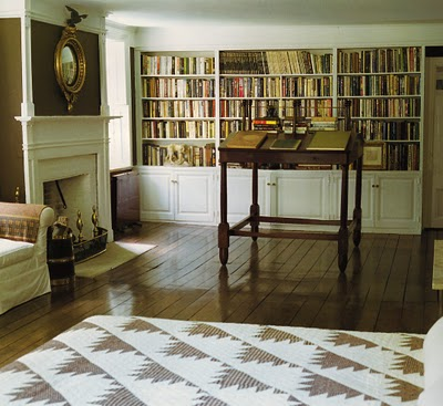 I Could Not Resist Ditto Ing This Amazing Space By Bill Blass Which Actually Features A Wall Of Books From His Former Bedroom