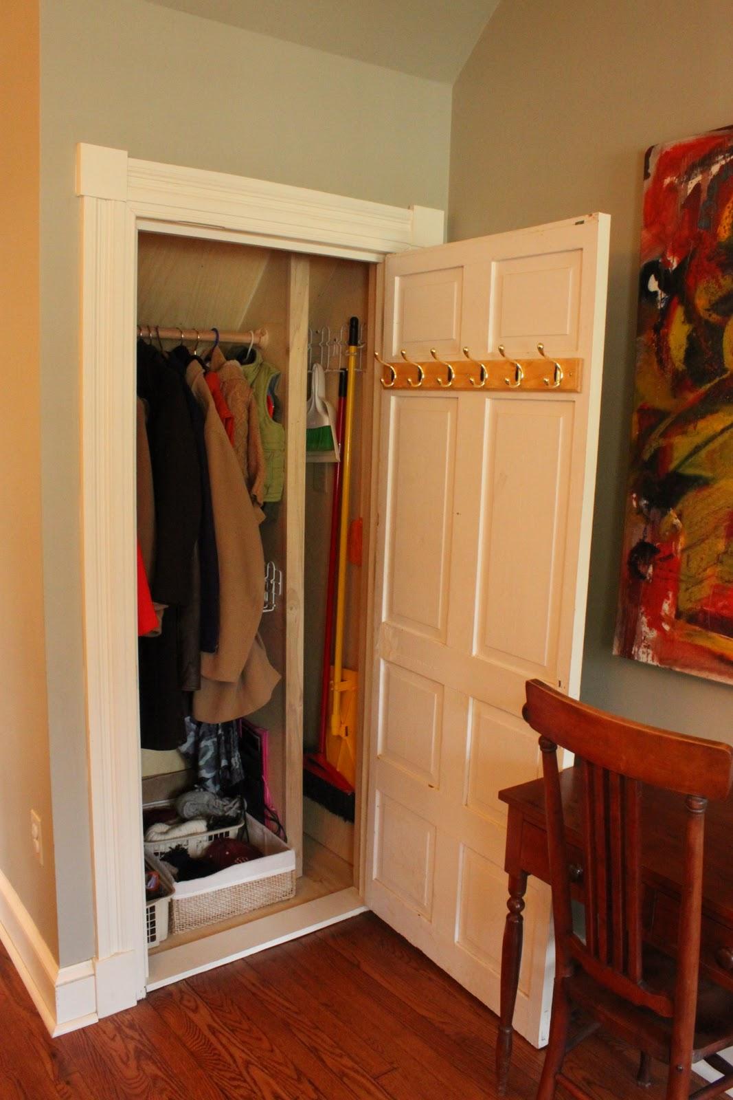Renovation A Dual Purpose Coat Closet Fieldstone Hill