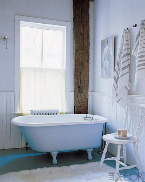 Beautiful Bathroom Chair Rail Specifics Please: Inspiration :: The Bathroom Chair