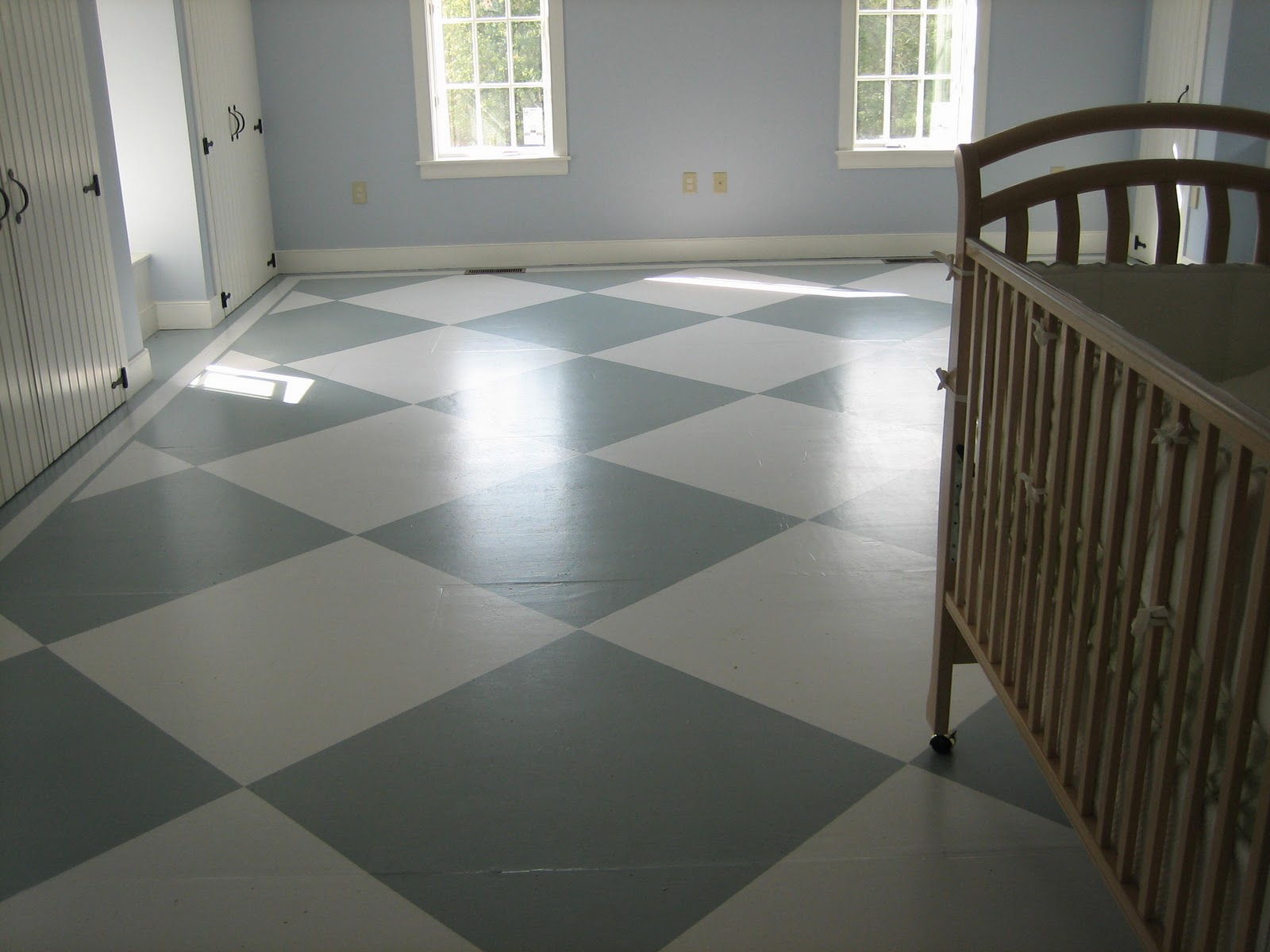 Boys Room Painted Subfloor Tutorial Painted Subfloor